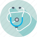 doctor tool, hospital, medical, phonendoscope, stethoscope icon