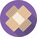 band aid, bandage, first aid, injury, plaster icon