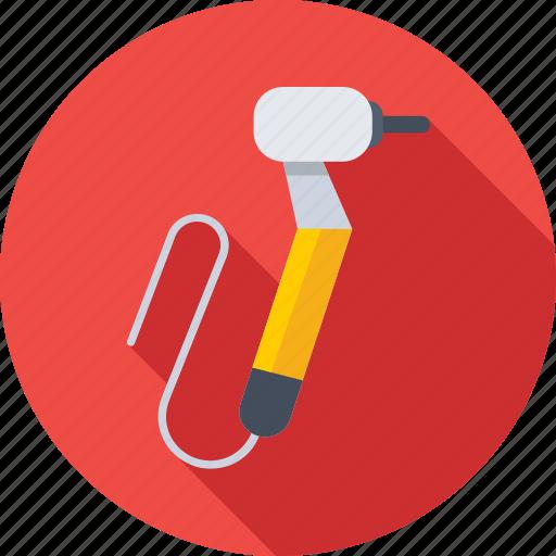 dental drill, dental surgery, dental tool, dentist, medical icon