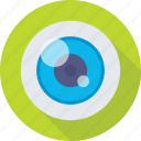 body part, eye, eyeball, human eye, organ icon