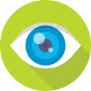 body part, eye, human eye, organ, view icon