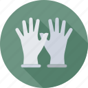 gloves, medical, medical gloves, precaution, safety icon