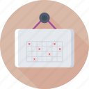 appointment, daily dosage, medical, schedule, timetable icon