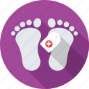 dead, dead body, death, feet, mortuary icon