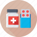 capsule, medicine, medicine jar, pills, tablet icon