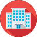 building, health clinic, hospital, medical, medical center icon