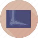 foot, medical, radiology, radioscopy, x ray icon