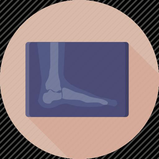 foot, medical, radiology, radioscopy, x ray icon