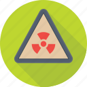 danger, nuclear, radiation, radioactive, toxic icon