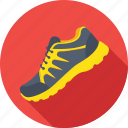 footwear, jogging shoes, sneakers, sports shoes, sportswear icon