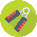 exercise, fitness, gripper, hand gripper, strengthener icon