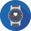 fitness tracker, heart rate watch, hrm watch, watch, wristwatch icon