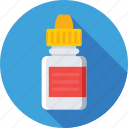 eye drops, medical, medicine, pharmacy, syrup icon