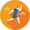 athlete, fitness, jogging, runner, running icon