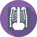 medical, radiology, radioscopy, ribs, xray icon
