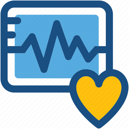 Ecg, ecg machine, ecg monitor, ekg, electrocardiogram icon - Download on Iconfinder