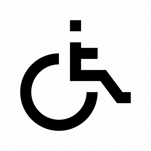 Disability, disabled, disabled parking, handicap, paraplegic icon - Download on Iconfinder