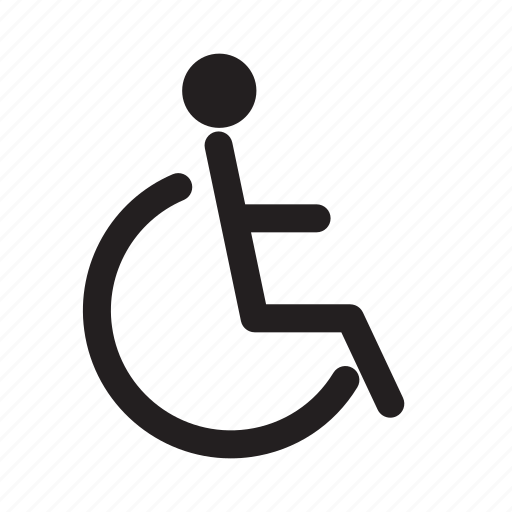 accessible, entrance, handicap, medical, movement, parking, wheelchair icon
