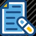 medical, medical report, medication, patient report, prescription