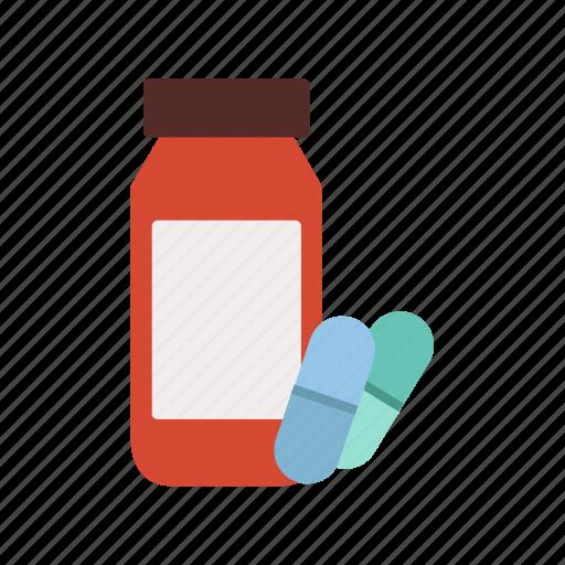 Bottle, health, hospital, medical, medicine, pills icon - Download on Iconfinder