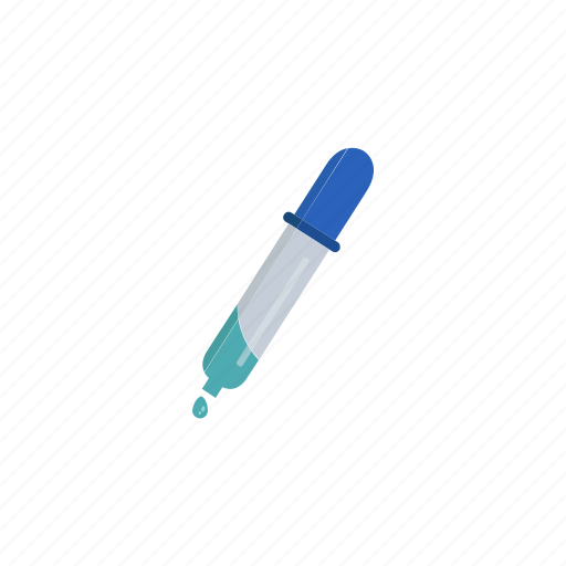 chemistry, experiment, laboratory, pipette, research, science icon