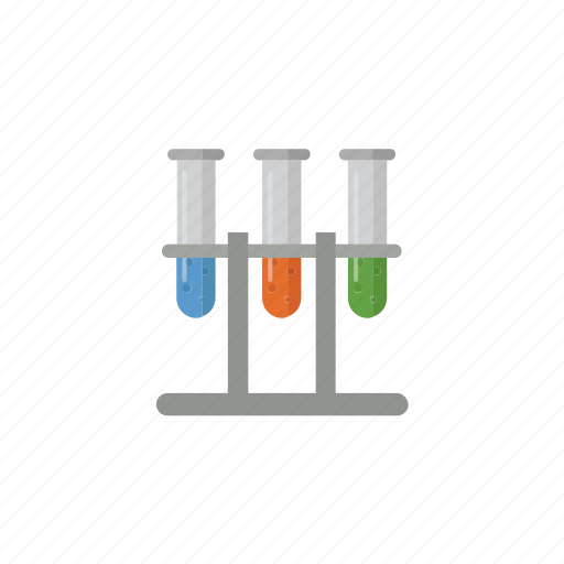 Chemistry, experiment, flask, laboratory, science, test, tube icon - Download on Iconfinder