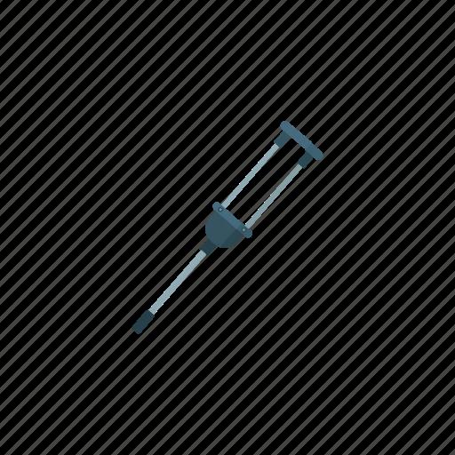 Crutch, health, healthcare, hospital, medical, medicine icon - Download on Iconfinder