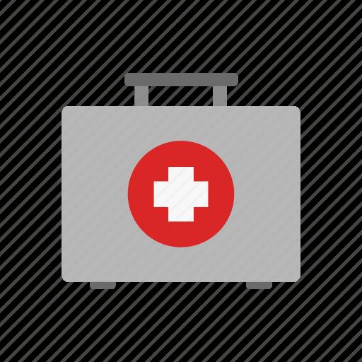 health, healthcare, hospital, medical, medicine, suitcase icon