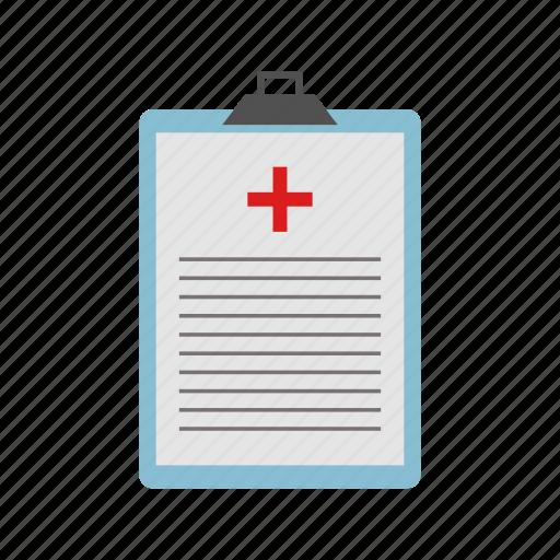 clipboard, doctor, hospital, medical, medical report, medicine icon
