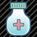 health, healthcare, hospital, medical, medicine, research, vial icon