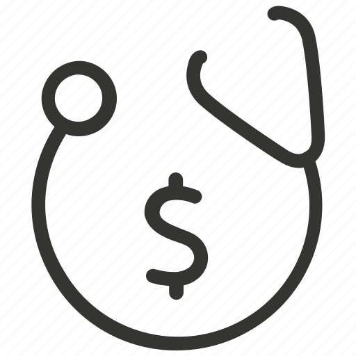 bill, hospital, insurance, medical, medical bill, payment icon