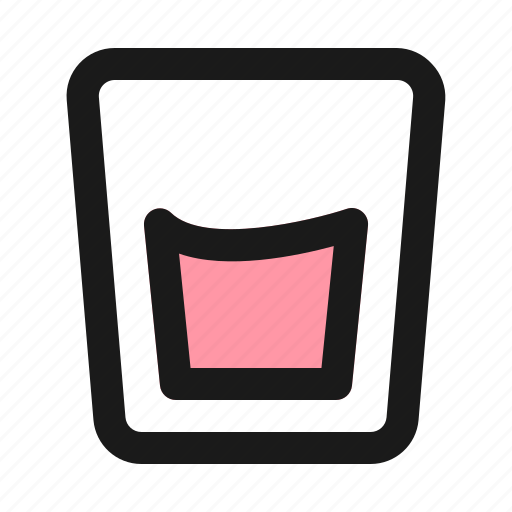 alcohol, drink, glass, water icon