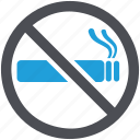 cigarette, no, smokefree, smoking, tobacco, warning icon