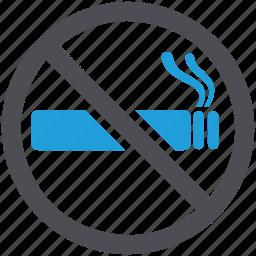 cigarette, no, smokefree, smoking, tobacco, warning icon
