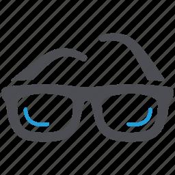 eye consultation, eyesight, glasses, optical, optician icon