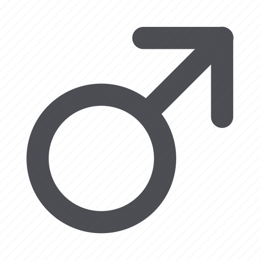 gender, male, male gender, male sign icon