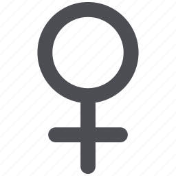 female, female symbol, girl, lady, venera, venus, woman icon