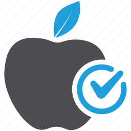 apple, diet, dietary, food, fruit, healthy diet, healthy food icon