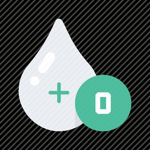 Blood, health, healthcare, medical, medicine, o, type icon - Download on Iconfinder