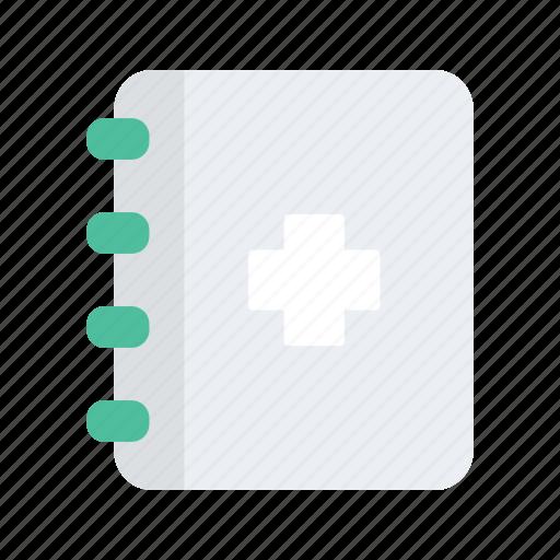 Book, health, healthcare, medical, medicine icon - Download on Iconfinder