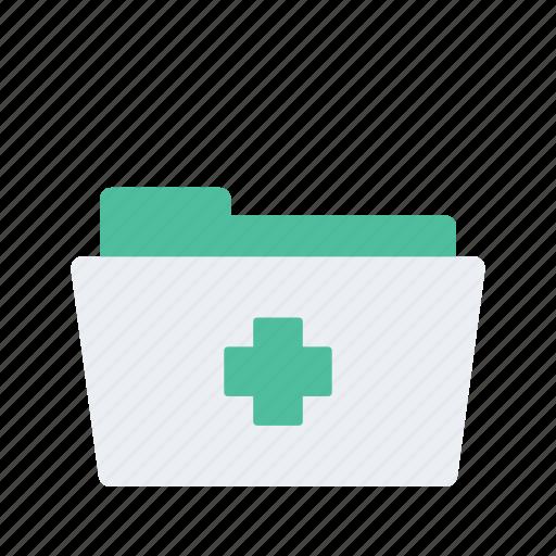 Folder, health, healthcare, medical, medicine icon - Download on Iconfinder