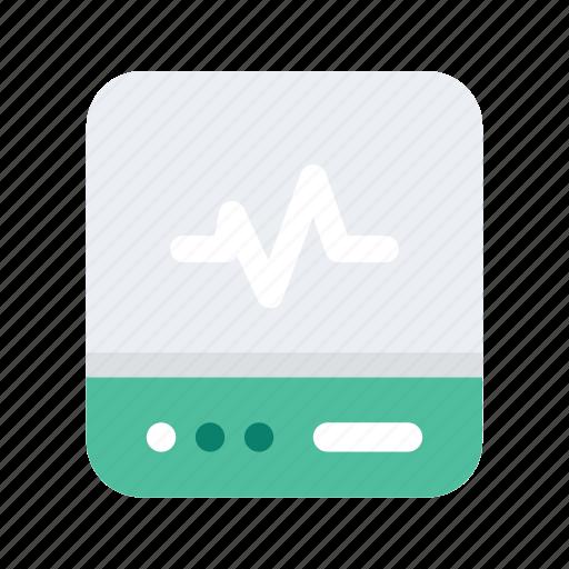 Rate, medical, healthcare, heart, health, medicine icon - Download on Iconfinder