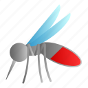 aedes, carrier, diseases, insect, mosquito icon