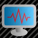 diagnosis, display, medical, monitor, screen
