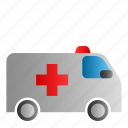 ambulance, car, emergency, medical