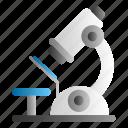 lab, laboratory, medical, microscope, research icon