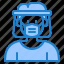 coronavirus, covid19, facemask, faceshield, protect