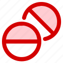 health, medical, medicine, pill, tablet icon