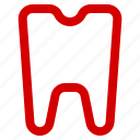 ache, doctor, health, herbal, human, medical, tooth icon