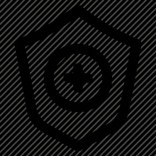 anti, defense, guard, healthcare, medical, shield icon
